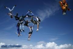 parachutisme track